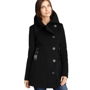 Mackage Wool & Cashmere Peacoat (Medium)